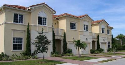 Hobe Sound Condo/Townhouse For Sale: 6104 Portofino