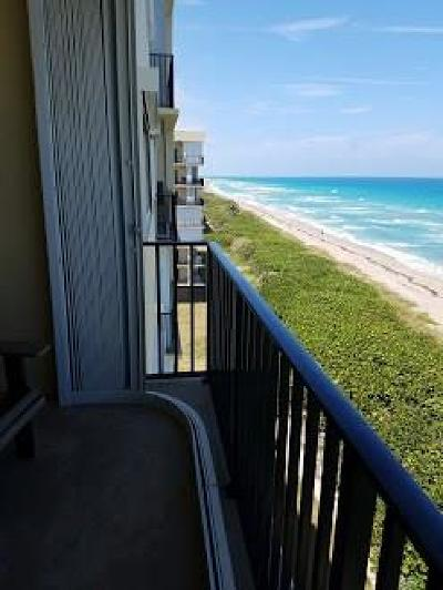 Stuart, Jensen Beach, Hutchinson Island Condo/Townhouse For Sale: 7430 S Ocean