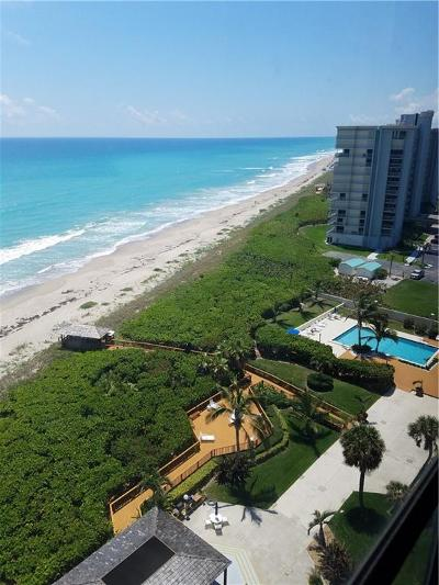 Stuart, Jensen Beach, Hutchinson Island Condo/Townhouse For Sale: 10410 S Ocean Drive