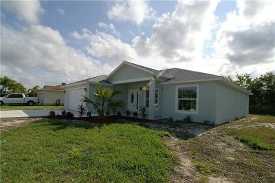 Port Saint Lucie FL Single Family Home For Sale: $237,500