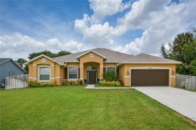 Port Saint Lucie Single Family Home For Sale: 2510 SW Abney