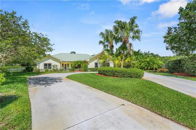 Port Saint Lucie Single Family Home For Sale: 7678 Wexford
