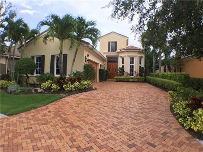 Port Saint Lucie Single Family Home For Sale: 132 SE Bella Strano
