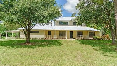 Palm City Single Family Home For Sale: 5752 SW Mistletoe
