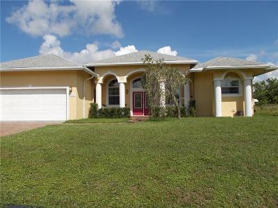 Port Saint Lucie FL Single Family Home For Sale: $299,000