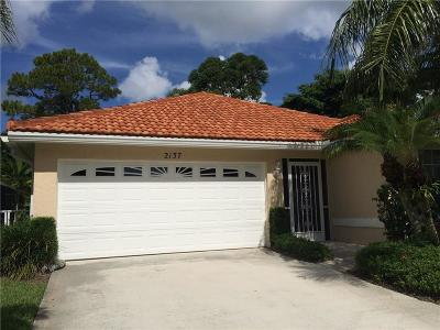 Palm City Single Family Home For Sale: 2137 SW Olympic Club