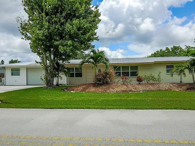 Palm City Single Family Home For Sale: 387 SW Riverway