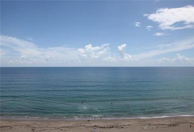 Stuart, Jensen Beach, Hutchinson Island Condo/Townhouse For Sale: 10680 S Ocean