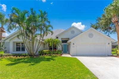 Port Saint Lucie Single Family Home For Sale: 3274 SE River Vista