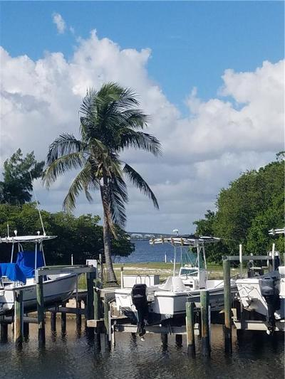 Stuart, Jensen Beach, Hutchinson Island Condo/Townhouse For Sale: 200 N El Mar