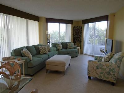 Stuart, Jensen Beach, Hutchinson Island Condo/Townhouse For Sale: 9600 S Ocean