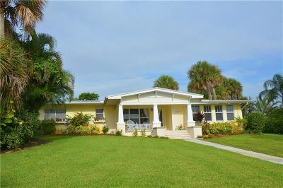 Fort Pierce Single Family Home For Sale: 10209 S Indian River