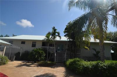 Stuart Single Family Home For Sale: 6 N Sewalls Point