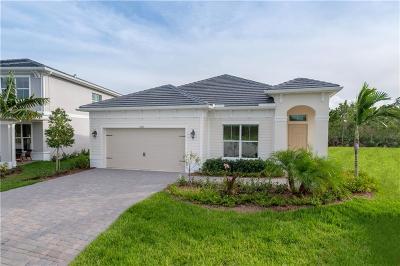 Stuart Single Family Home For Sale: 4862 SW Millbrook