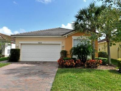 Port Saint Lucie Single Family Home For Sale: 9622 SW Lindale Trace