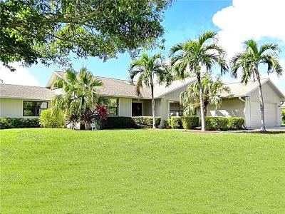 Palm City Single Family Home For Sale: 1260 SW 25th