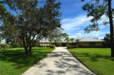 Palm City Single Family Home For Sale: 3765 SW Bimini