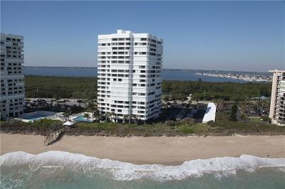Stuart, Jensen Beach, Hutchinson Island Condo/Townhouse For Sale: 9950 S Ocean