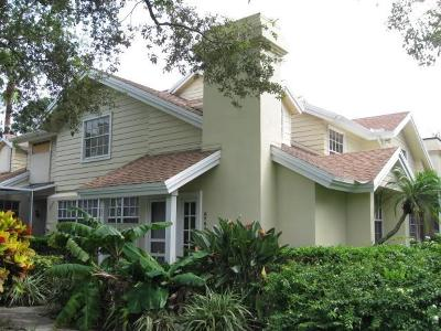 Palm City Condo/Townhouse For Sale: 3764 SW Sunset Trace