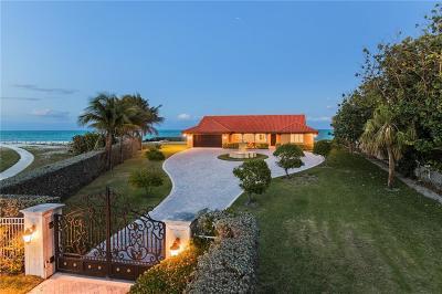 Vero Beach Single Family Home For Sale: 3766 Ocean