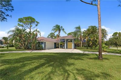 Palm City Single Family Home For Sale: 1123 SW Pigeon Plum