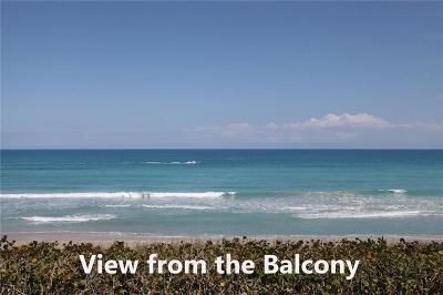 Jensen Beach Condo/Townhouse For Sale: 8650 S Ocean