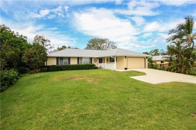 Stuart Single Family Home For Sale: 97 S Sewall's Point