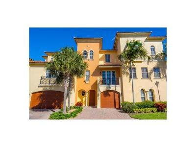 Stuart, Jensen Beach, Hutchinson Island Condo/Townhouse For Sale: 138 Ocean Bay
