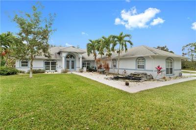 Port Saint Lucie Single Family Home For Sale: 2022 SE Tickridge