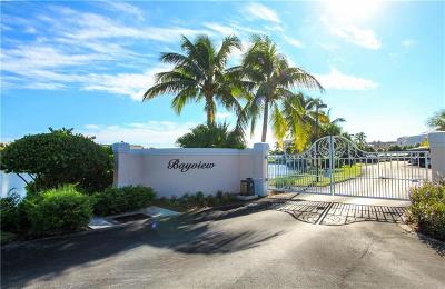 Stuart, Jensen Beach, Hutchinson Island Condo/Townhouse For Sale: 5800 NE Island Cove