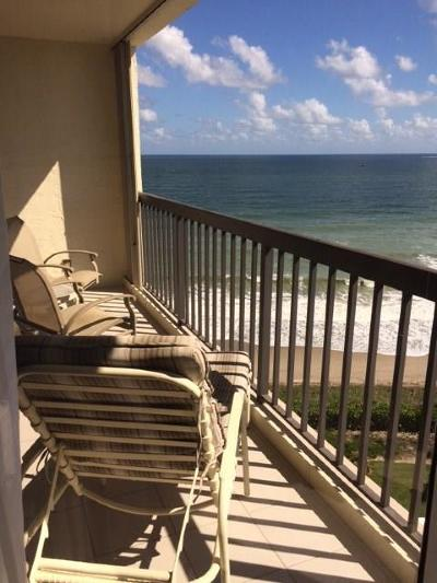 Saint Lucie County Condo/Townhouse For Sale: 9500 S Ocean Drive