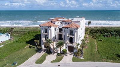 Jensen Beach Single Family Home For Sale: 8004 S Ocean
