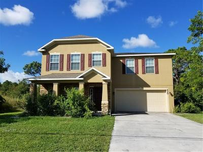 Port Saint Lucie Single Family Home For Sale: 220 NW Bayshore