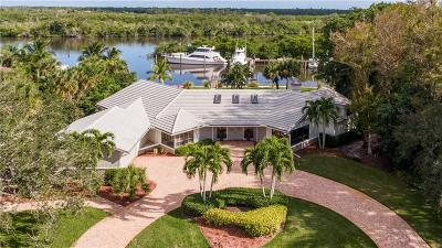 Palm City FL Single Family Home For Sale: $1,000,000