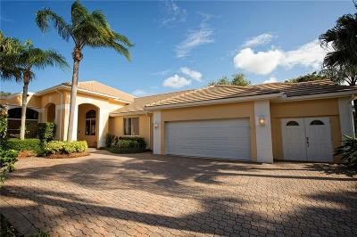 Palm City Single Family Home For Sale: 2472 SW Longwood