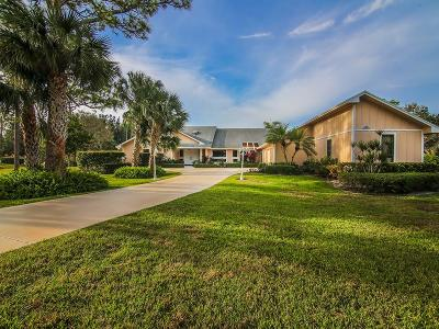 Palm City Single Family Home For Sale: 1934 SW Saint Andrews