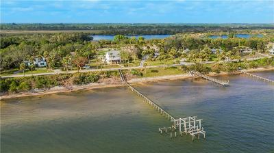Fort Pierce Single Family Home For Sale: 5300 S Indian River