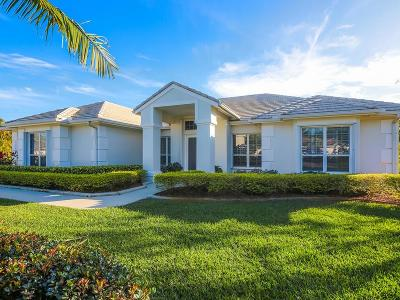Palm City Single Family Home For Sale: 4839 SW Lake Grove