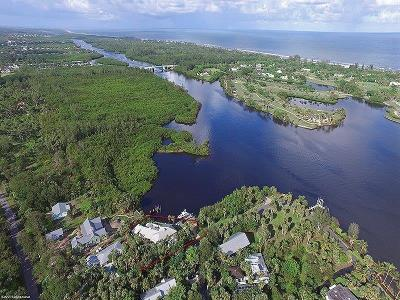 Hobe Sound Single Family Home For Sale: 11909 SE Indian River