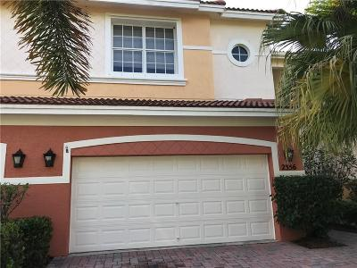 Palm City Condo/Townhouse For Sale: 2356 SW Island Creek
