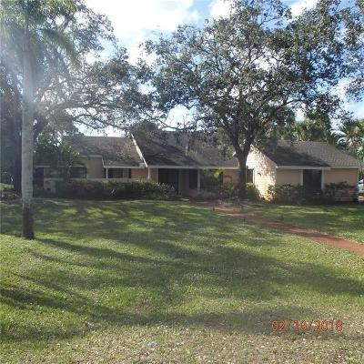 Palm City Single Family Home For Sale: 2222 SW Racquet Club