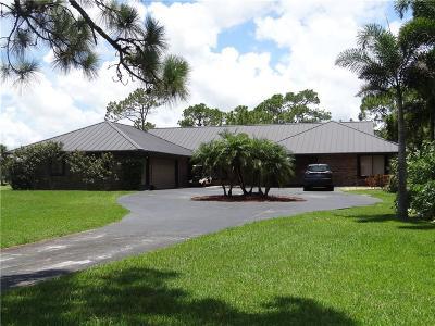 Palm City Single Family Home For Sale: 4222 SW Bimini