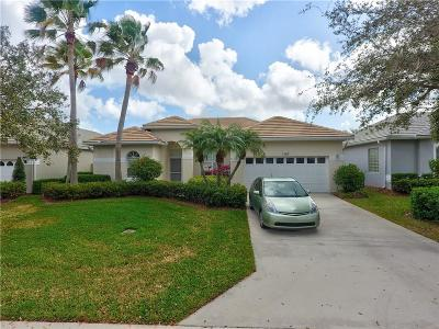 Palm City Single Family Home For Sale: 1587 SW Monarch Club