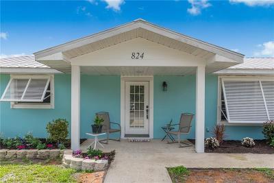 Stuart Single Family Home For Sale: 824 SE Stypmann