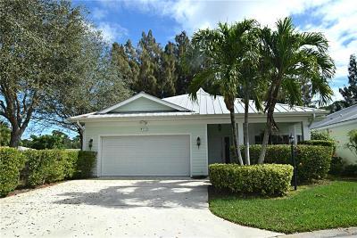 Stuart Single Family Home For Sale: 2122 NW Tilia