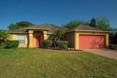 Port Saint Lucie Single Family Home For Sale: 2249 SW Franklin