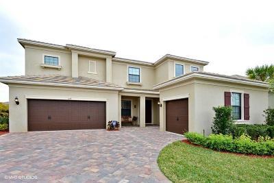 Palm City Single Family Home For Sale: 1117 SW Scrub Oak