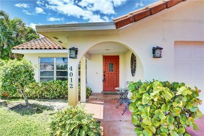 Stuart Single Family Home For Sale: 4012 SE Fairway West