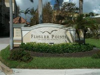 Palm Beach County Condo/Townhouse For Sale: 1805 N Flagler
