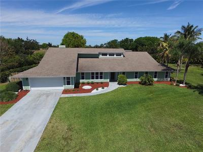Jensen Beach Single Family Home For Sale: 2086 NE Ocapi